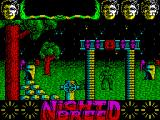 Clive Barker's Nightbreed:  The Action Game ZX Spectrum Knocked him out, about to go through a gateway