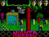 Clive Barker's Nightbreed:  The Action Game ZX Spectrum A big fly and a floaty ball bomb thing