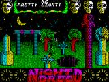 Clive Barker's Nightbreed:  The Action Game ZX Spectrum This hole is a portal that Boone found accidentally while avoiding the big immortal fly. Once in the hole there's a brief picture of Boone falling then the next part of the game must be loaded