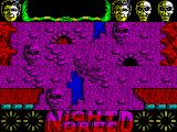 Clive Barker's Nightbreed:  The Action Game ZX Spectrum Entering the under-underworld. After the next part loads Boone continues to fall