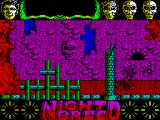 Clive Barker's Nightbreed:  The Action Game ZX Spectrum Another of the Nightbreed. This one I think is the Fatman - poisonous to touch. He jumps on Boone like a giant toad. Boone cannot jump over him and must run away