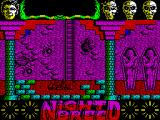 Clive Barker's Nightbreed:  The Action Game ZX Spectrum Knocked down by flying teeth and from somewhere up above boulders are being dropped