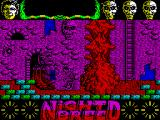 Clive Barker's Nightbreed:  The Action Game ZX Spectrum Up the ladder and Boone must get past this beast to progress