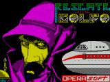Rescate En El Golfo ZX Spectrum Load screen