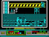 Rescate en el Golfo ZX Spectrum There's loads of bad guys - a small army of them.