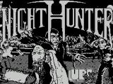 Night Hunter ZX Spectrum Load screen