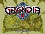 Grandia II Windows Menu screen