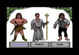 Duel Master: Blood Valley Commodore 64 Choose a class