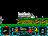 R.A.M. ZX Spectrum The next screen and the bad guys are hidden behind a truck - which I don't seem to be able to use