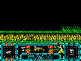 R.A.M. ZX Spectrum Not dead, lying down. Fox will not shoot from this position and he won't move either. Good for ducking below some automatic guns but no good against moving troops