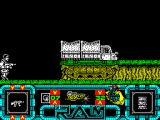 R.A.M. ZX Spectrum Last time I played the game there were troops here, this time nothing