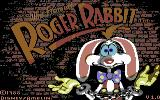 Who Framed Roger Rabbit Commodore 64 Title screen
