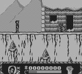 Cliffhanger Game Boy First stage