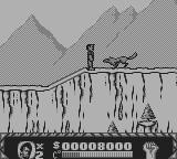Cliffhanger Game Boy Wolves are among the first enemies we meet.