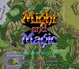 Might and Magic TurboGrafx CD Title screen