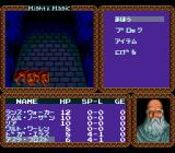 Might and Magic TurboGrafx CD This nutcase is my party member. Really. Looks like Saruman on drugs