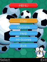 Blockbusters: Football Edition J2ME Main menu