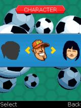 Blockbusters: Football Edition J2ME Selecting a character