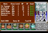 Might and Magic III: Isles of Terra TurboGrafx CD Party list