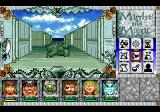 Might and Magic III: Isles of Terra TurboGrafx CD Exploring the city. Enemy is ahead...