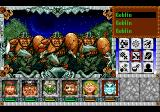 Might and Magic III: Isles of Terra TurboGrafx CD Fighting goblins outdoors
