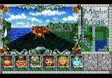 Might and Magic III: Isles of Terra TurboGrafx CD It's day... lovely weather... roaming the large world... an orc is ahead...