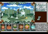 Might and Magic III: Isles of Terra TurboGrafx CD This port city has nice fountains...