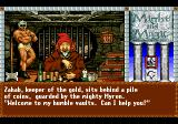 Might and Magic III: Isles of Terra TurboGrafx CD Visiting a bank