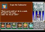 Might and Magic III: Isles of Terra TurboGrafx CD Dialogue