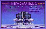 Impossible Mission II Atari ST Title screen