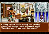 Might and Magic III: Isles of Terra TurboGrafx CD Funny shopkeeper...