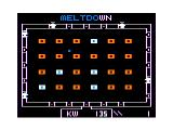 Reactoid TRS-80 CoCo Some particles deflected - only 2 letters left then meltdown