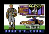 MASK Commodore 64 Title screen