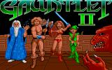 Gauntlet II Atari ST Title screen