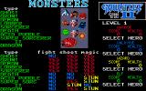 Gauntlet II Atari ST A few of the monsters you'll encounter