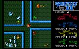 Gauntlet II Atari ST At an intersection between some large doors!