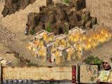 FireFly Studios' Stronghold Crusader Windows Razing the fortress.