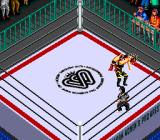 Super Fire Pro Wrestling Queen's Special TurboGrafx CD About to throw the opponent