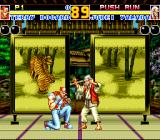 Fatal Fury 2 TurboGrafx CD Dramatic battle in Japan, against a sly old master