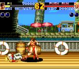 Fatal Fury 2 TurboGrafx CD Mai defeats Andy. I bet he would like some ice CREEM now :)