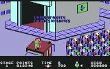 FireTrap Commodore 64 The people congratulate you on a job well done