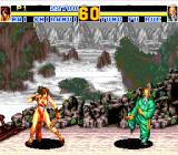 Fatal Fury Special TurboGrafx CD Beautiful Chinese scenery!..