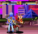 Fatal Fury Special TurboGrafx CD ...until night descended. Kim elegantly kicked Mai into the air. The biker began to understand what was going on