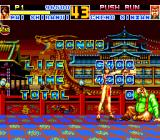 Fatal Fury Special TurboGrafx CD Mai's bonuses are rolling, and Cheng simply doesn't get it :)