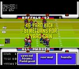 John Madden Duo CD Football TurboGrafx CD Gained 3 yards. Not much, eh? Gotta change the tactics...