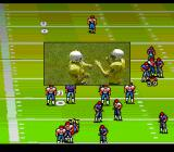 John Madden Duo CD Football TurboGrafx CD Successful yard gain. The players are happy
