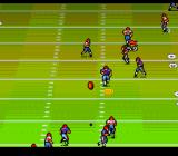 John Madden Duo CD Football TurboGrafx CD The ball goes high into the air, waiting for the receiver's hands
