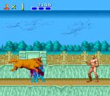 Altered Beast TurboGrafx CD I'm bigger! I'm bigger! Come, beasties, give me more of your power!