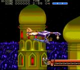 Strider TurboGrafx CD The hero is dropped by a plane