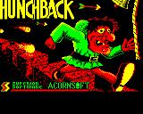 Hunchback BBC Micro Loading screen.